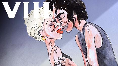 Kylie Minogue & Michael Hutchence (1987)